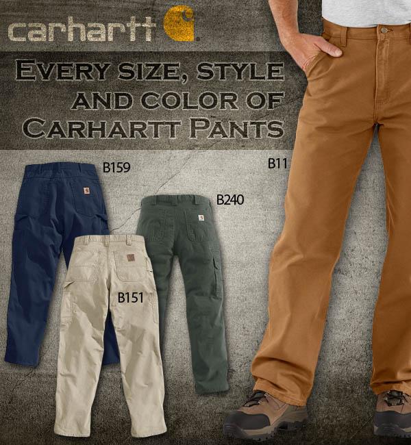 Carhartt Pants At Dungareesnet Dungareesnets Carhartt Clothing
