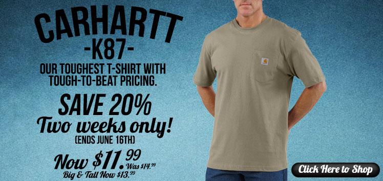 Carhartt K87 Sale